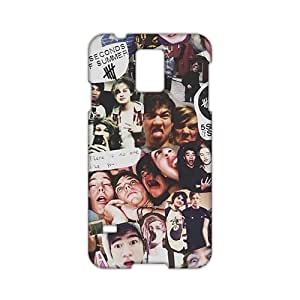 3D Case Cover 5 seconds of summer Phone Case for Samsung Galaxy s 5