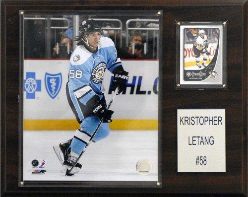 NHL Kris Letang Pittsburgh Penguins Player Plaque