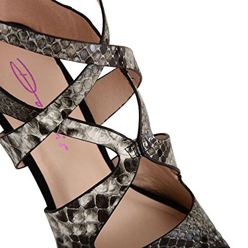 Dolcis - Zapatos de tacón mujer Multicolor - negro/blanco