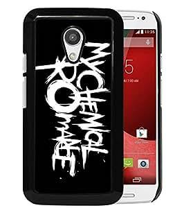 Newest Moto G 2nd Case,my chemical romance logo Black High Quality Hot Sale Motorola Moto G 2nd Generation Phone Case