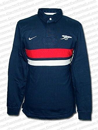 NIKE - Arsenal Polo Rugby 12/13 Hombre Color: Marino Talla: S ...