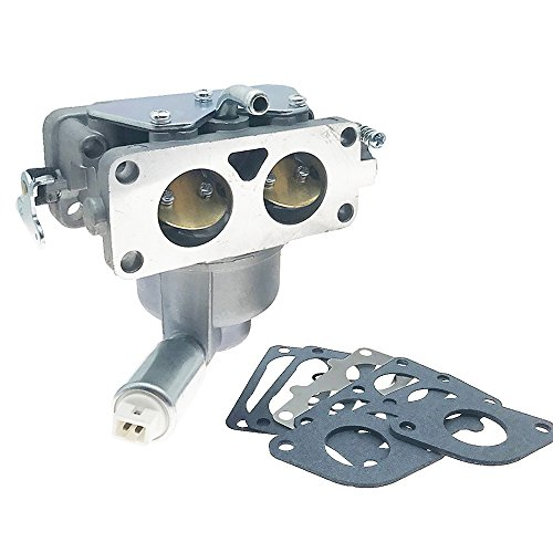 Briggs Stratton Carb - New 796227 Carburetor Carb Replacement with Mounting Gasket Kit for Briggs & Stratton V-Twin Models 407777 40N877 40R877 445677 445877 44L777 44M777 44P777 44R677