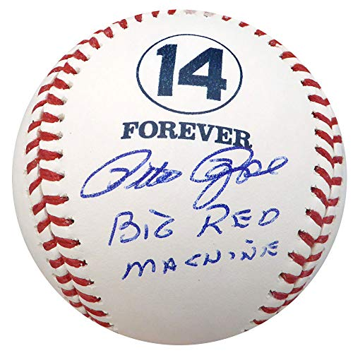 Big Red Machine Hand Signed - Pete Rose Signed Auto Official MLB Forever 14 Baseball Big Red Machine Cincinnati Reds - Beckett Certified