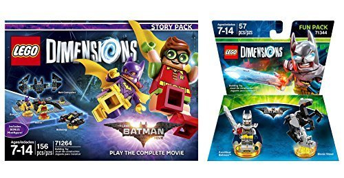 (LEGO Batman Movie Story Pack + Excalibur Batman Fun Pack - LEGO Dimensions - Not Machine Specific)