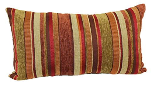 Brentwood Originals 2073 Carnival Stripe Toss Pillow, 14 by 24-Inch, -