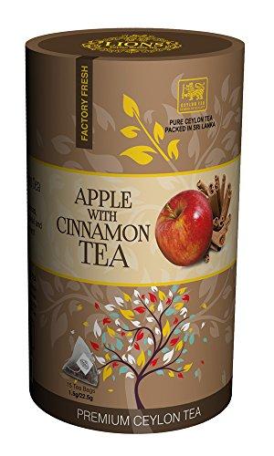 Lions Apple With Cinnamon Tea (15 Pyramid Tea Bags)