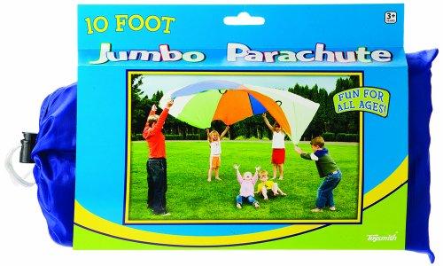 Toysmith 10' Jumbo Parachute -