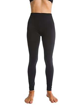 b62e1a21de03f Homma Fleece Lined Thick Brushed Leggings Thights at Amazon Women's ...