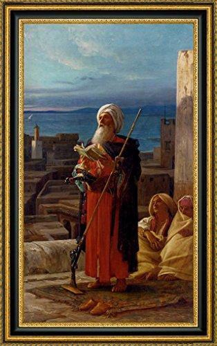 La Priere Du Soir A Tanger by Jean-Jules-Antoine Du Nouy - 11