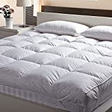 Linenwalas Microfiber Customized Mattress Padding/Topper for 5 Star Hotel Feel - (White) (Customized)