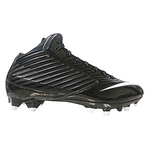 Nike Men's Vapor Speed Low TD Molded Football Cleats (11.5 D(M) US, Black/White) (Football Molded Cleats Nike)