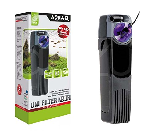 Unifilter UV Power 500 - Filtro interno para acuario, a 500 litros/hora, con esterilizador UV LED: Amazon.es: Hogar