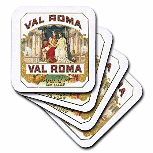 3dRose cst_170120_2 Val Roma Havana De Luxe Vintage