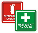 2-Pcs Momentous Unique First Aid Kit and Fire - Best Reviews Guide