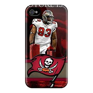 New Style Rewens Hard Case Cover For Iphone 4/4s- Tampa Bay Buccaneers
