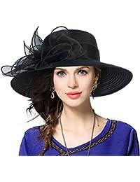 b9b2b223831 Kentucky Derby Dress Church Cloche Hat Sweet Cute Floral Bucket Hat