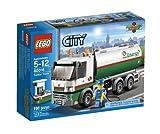 legos gas station - LEGO City Tanker Truck 60016