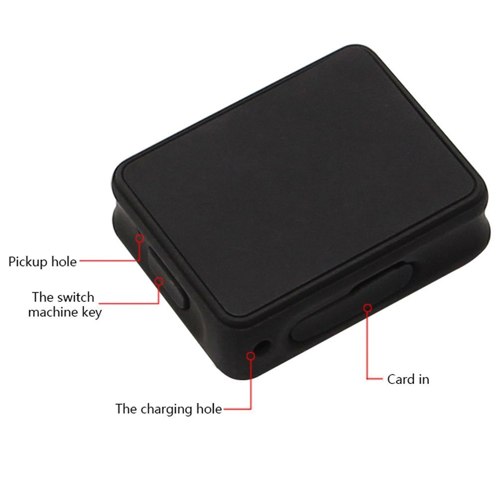 Smart GPS Tracker Spy Mini Portable Real Time tracking device Wireless GPRS SIM Locator For Vehicle Car Children (K8) by ZHLL (Image #3)