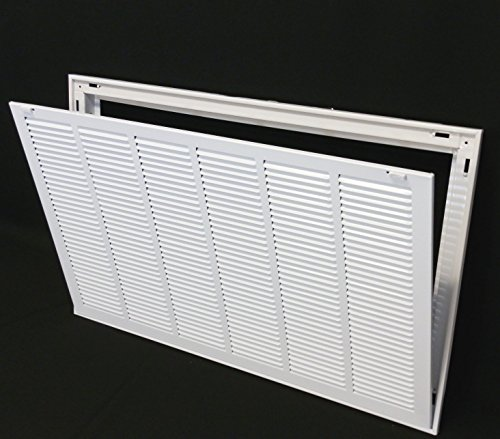 Hvac Return Air Grill : Quot steel return air filter grille for