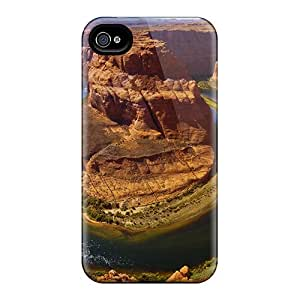 For Iphone Case, High Quality Horse Shoe Bend For Iphone 4/4s Cover Cases