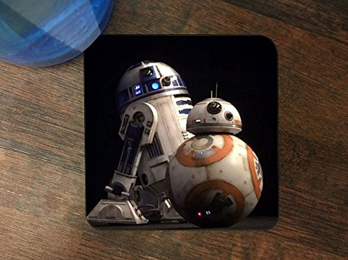 - Popular Droid Robots Silicone Drink Beverage Coaster 4 Pack by Demon Decal