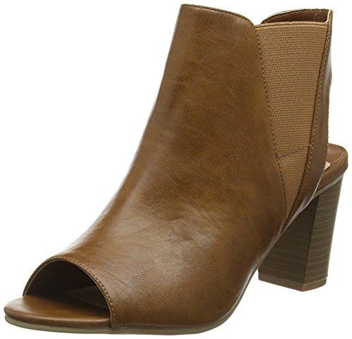 DOROTHY PERKINS SHOES & BAGS Selina Elastic - Sandalias Mujer Brown (160)