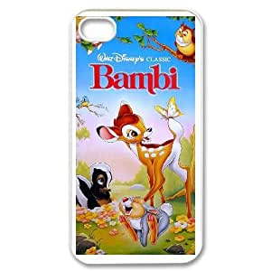 iPhone 4,4S Cell Phone Case White Bambi II AG6115926