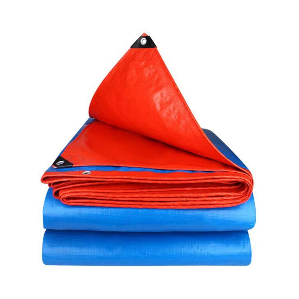 DALL ターポリン アウトドア 耐寒性 防水 タープ 日焼け止め 不凍液 様々なサイズ (色 : 青, サイズ さいず : 6*7m) 6*7m 青 B07KV9NJWH