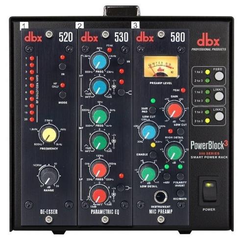 500 Series Module (DBX PowerBlock3 Slot 500 Series, Smart Power)