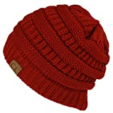 Hat 100% Acrylic Unisex Winter hat warm (US Seller)Red _New Super Cute Thick Cap