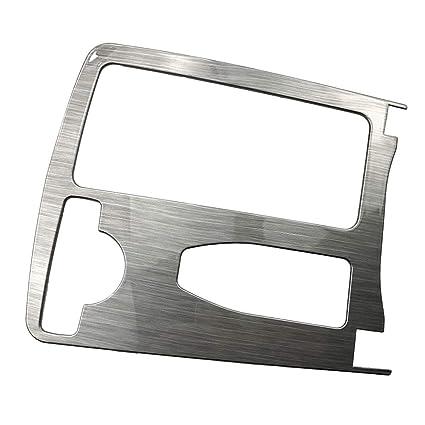 Carrfan Consola Reposabrazos Pegatinas Cubierta del embellecedor Car Styling Accesorios Interiores para Mercedes-Benz Clase