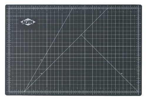 Alvin Mats (Cutting Mat Opaque Green & Black 3.5X5.5 Model: GBM0305 Office Supply Store)