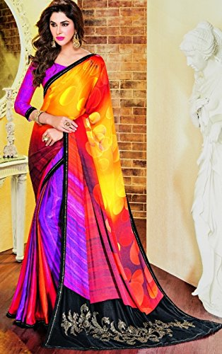Casual Summer Wear Women Printed Party Wear Latest Sari Ethnic Designer Hijab Indian Saree 8773