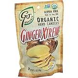 Go Organic Hard Candy - Ginger Xtreme - 3.5 oz