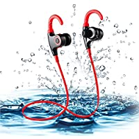 Bestipik Bluetooth Headphones In Ear Wireless Earbuds 4.2 Magnetic Sweatproof Stereo Bluetooth Earphones for Sports With Mic