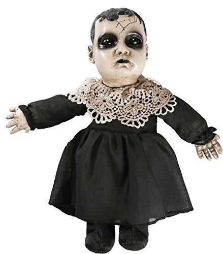 Scary Little Precious Doll w/ Sound Horror Theme Party Halloween Decoration ()