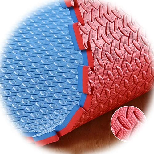 XJJUN Protective Flooring ,EVA Foam Interlocking Tiles For MMA, ExtraThick Exercise, Gymnastics And Home Gym Protective…