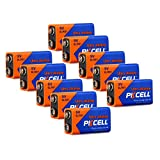 9V MN1604 6LR61 Alkaline Primary Battery for Smoke Detectors (10-Pack)