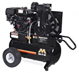 Mi-T-M AM2-PH09-20M Portable Air Compressor, 20-Gallon, Two Stage with Gasoline For Sale