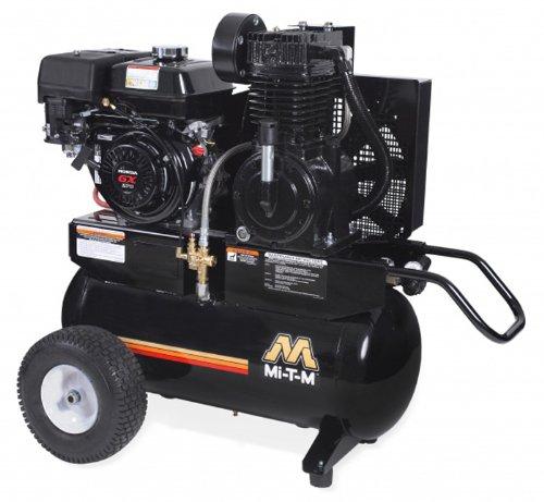 Mi-T-M AM2-PH09-20M Portable Air Compressor, 20-Gallon, Two Stage with Gasoline For Sale