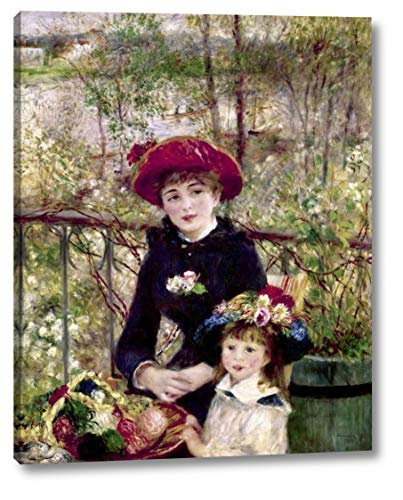 (Two Sisters - On The Terrace by Pierre-Auguste Renoir - 12
