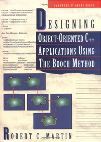 Applications Using the Booch Method Designing Object-Oriented C+