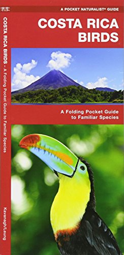 Costa Rica Birds: A Folding Pocket Guide to Familiar Species (A Pocket Naturalist Guide)