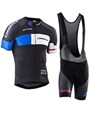 bb711eb5bd2 Laogg Ropa Ciclismo Hombre Conjunto Equipacion Traje para Verano, Maillot  Ciclismo +Culotte Ciclismo Culote