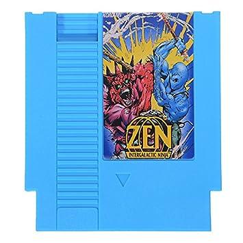 Zen Intergalactic Ninja 72 Pin 8 bit Tarjeta de Juego láser ...