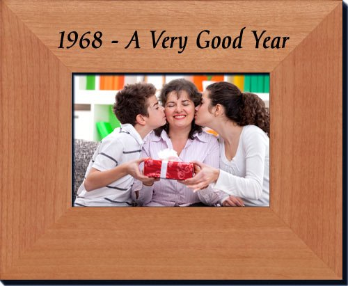 1968 Frame - 50th Birthday Gift or 50th Anniversary Gift Frame