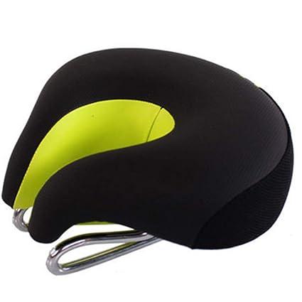 Mountain Bike Split Seat Saddle Bicycle Cycling Riding Soft Comfort Cushion Pad