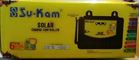 Sukam Solar PV Charge Controller 12V-24V-48V/45Amp