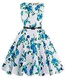 Kate Kasin Girls Dresses Flower Print Children Clothing 9-10yrs KK250-3