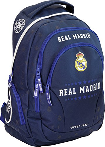 Exclusiv und Ergonomisch Real Madrid Rucksack Ronaldo Schulrucksack Tasche 45x31x16cm EDEL 2017